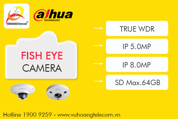 camera fisheye Dahua