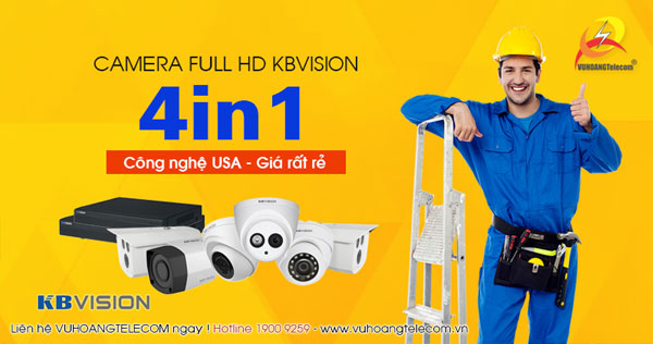 camera 4in1 Full HD Kbvision