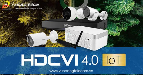 Camera HDCVI công nghệ IoT Dahua mới