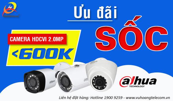 khuyến mãi camera HDCVI Dahua