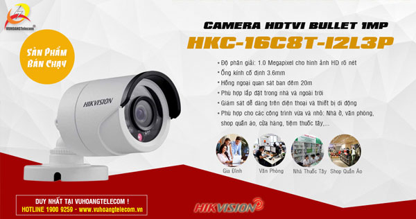 camera Hikvision Plus bán chạy