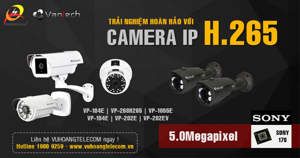camera H.265 Vantech