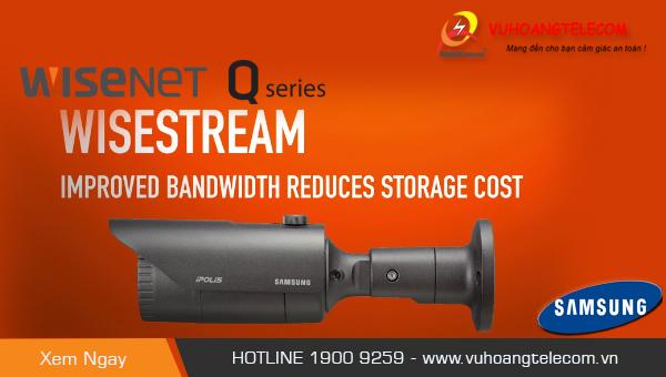 camera IP Samsung wisenet Q - 2