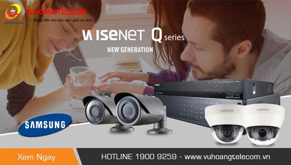 camera IP Samsung wisenet Q