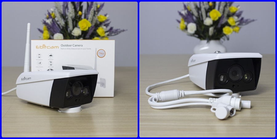 Camera IP Wifi EBITCAM EBO2 1080P lắp ngoài trời