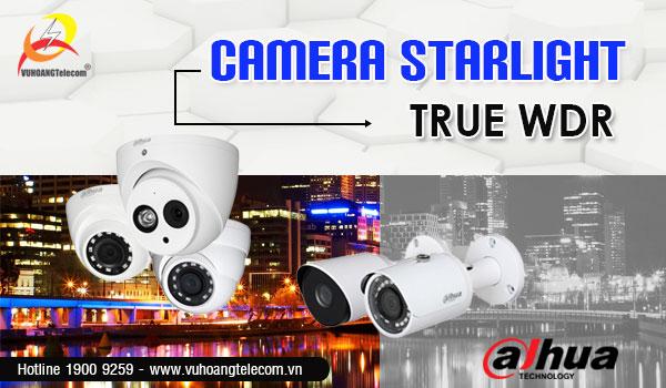 Camera starlight Dahua chống ngược sáng