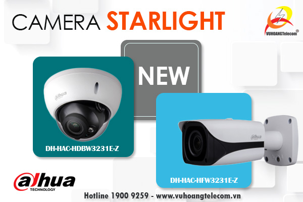 camera starlight Dahua mới