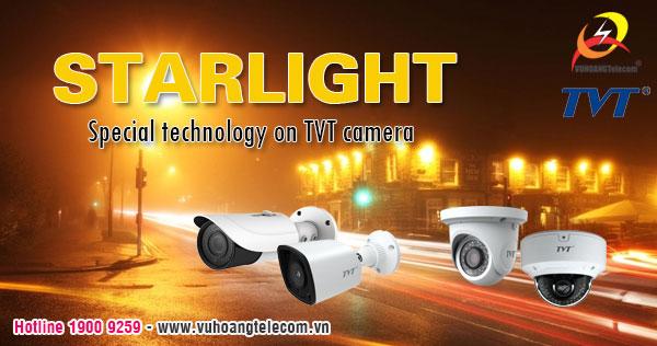 Công nghệ Starlight ở camera TVT