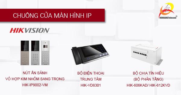 hệ thống chuông cửa màn hình Hikvision -4