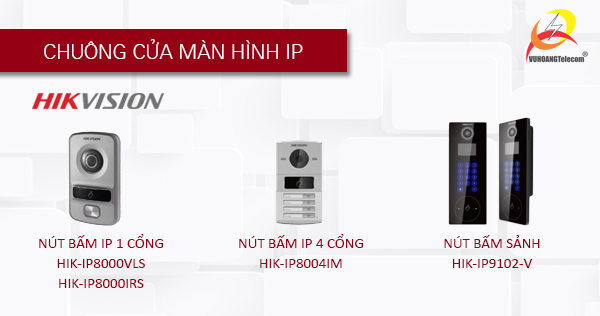 hệ thống chuông cửa màn hình Hikvision- 3