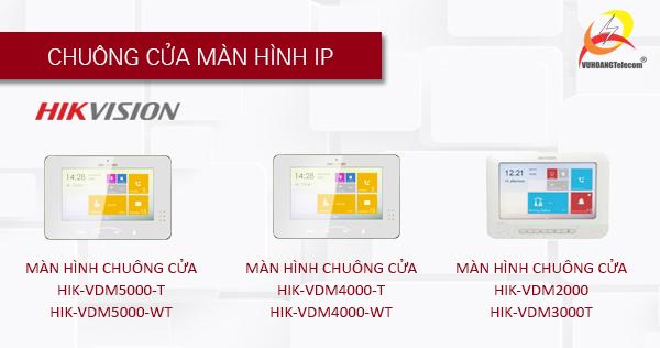 hệ thống chuông cửa màn hình Hikvision-2