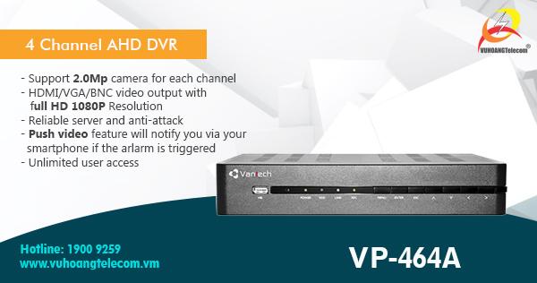 Kit AHD 2MP Vantech chip Sony -4