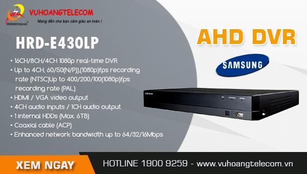 đầu ghi hình AHD Samsung giá rẻ -2