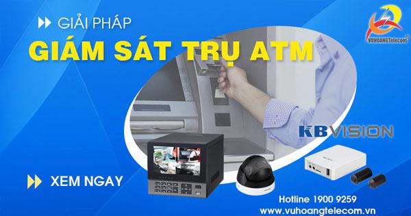 camera giám sát trụ ATM