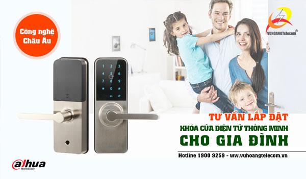 cửa điện tử Dahua giá rẻ cho gia đình