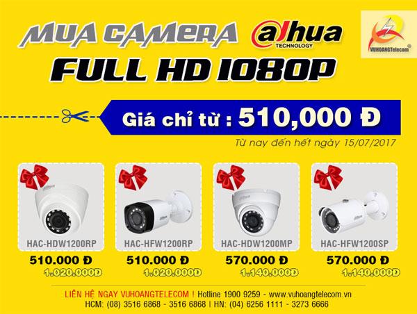 camera Dahua full HD giá rẻ