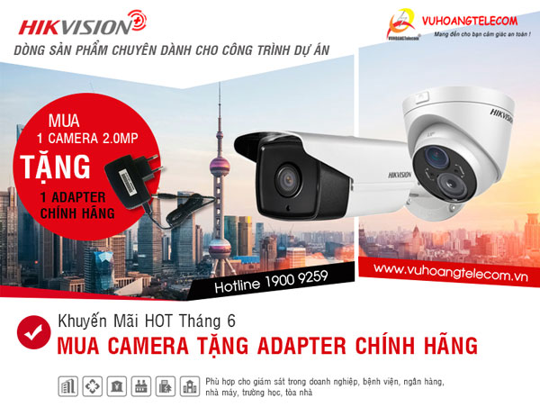 khuyến mãi camera Hikvision Plus