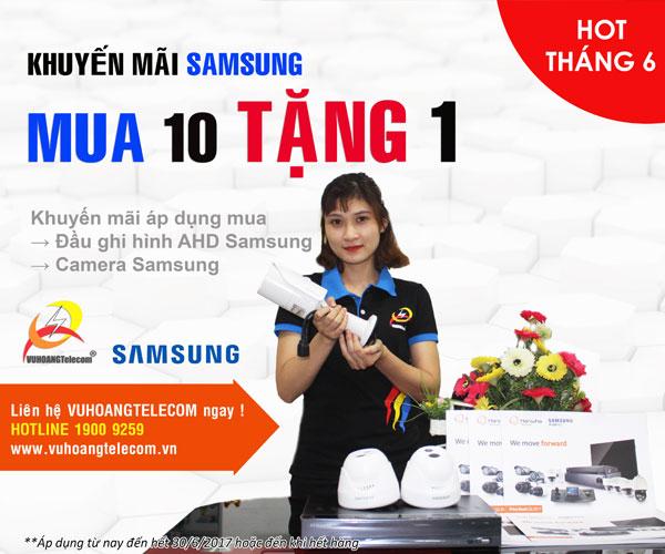 camera Samsung khuyến mãi