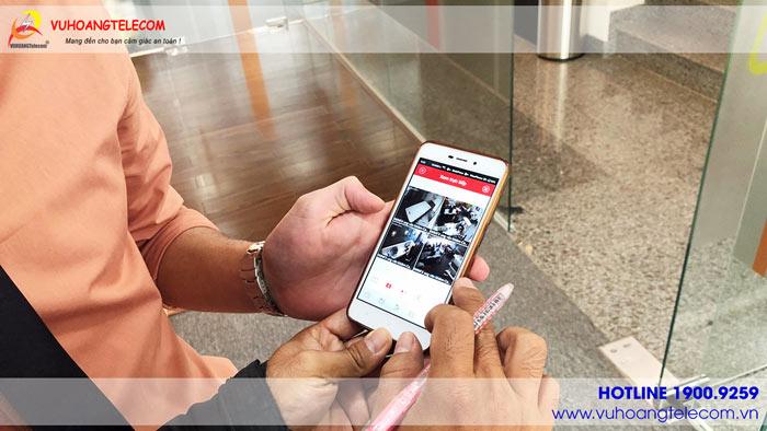 Hướng dẫn khách hàng sử dụng xem camera giám sát từ xa trên di động dễ dàng, nhanh chóng