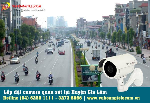 Lắp đặt camera tại huyện Gia Lâm từ Vuhoangtelecom