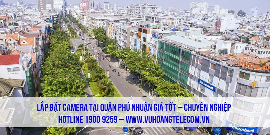 Chuyên lắp đặt camera quận Phú Nhuận