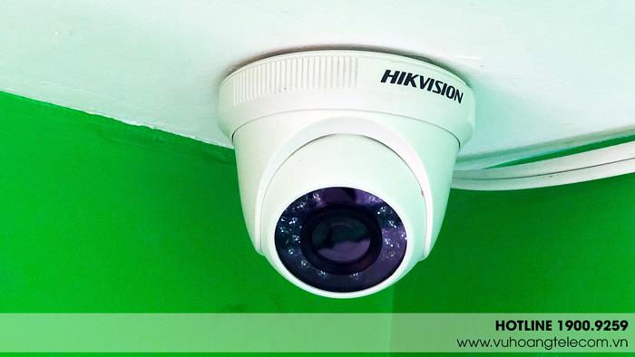 Hệ thống camera quan sát sau khi lắp luôn đạt tính thẩm mỹ