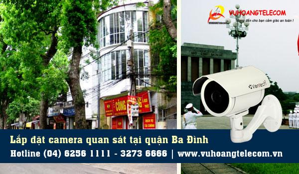 Lắp đặt camera quận Ba Đình liên hệ hotline 19009259