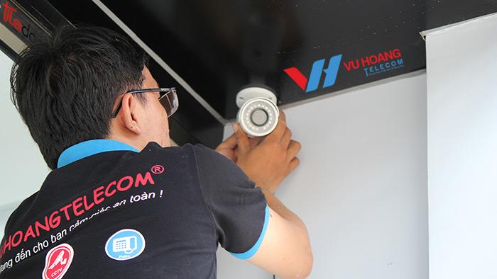 Vuhoangtelecom chuyên cung cấp và lắp đặt camera tại quận Gò Vấp