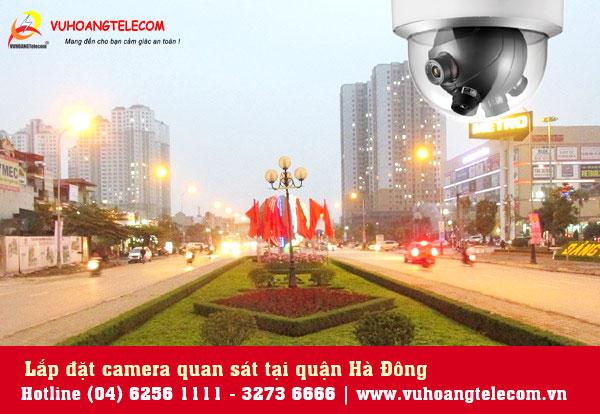 Lắp đặt camera tại quận Hà Đông giá tốt