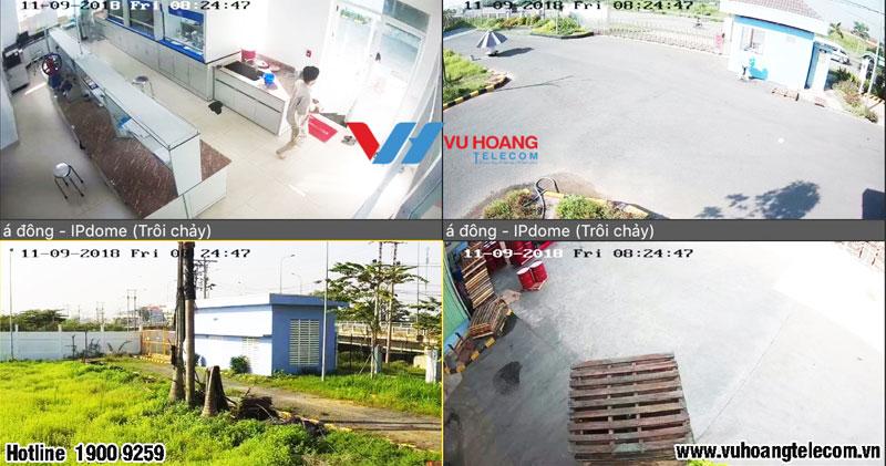 Thi công lắp đặt camera nhà máy Sơn Á Đông tại Long An