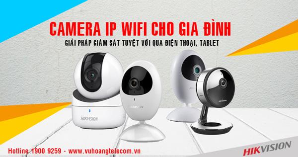 Những lợi ích của camera IP Wifi