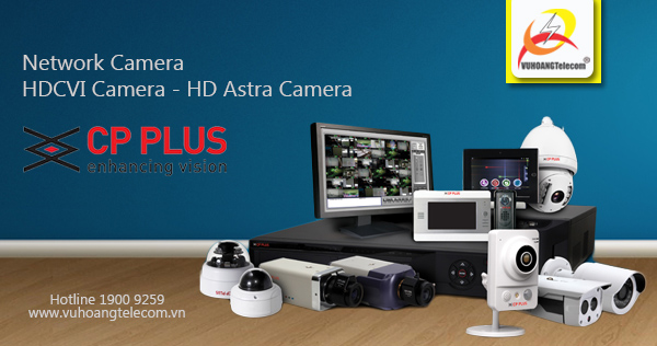 Phân phối camera CP Plus