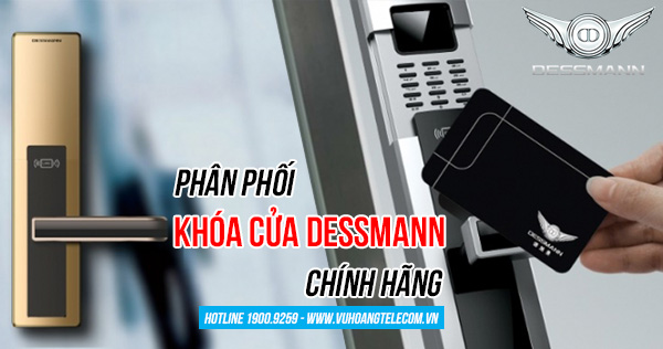phân phối khóa cửa điện tử Dessmann giá rẻ