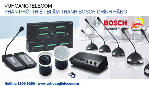 Phân phối thiết bị âm thanh BOSCH