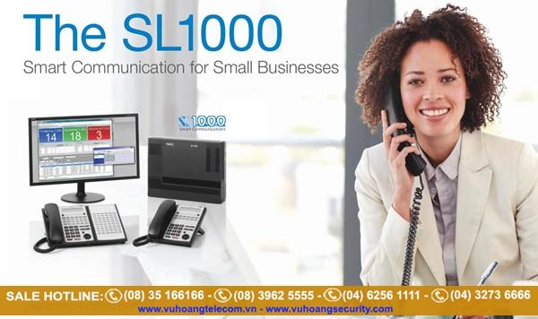 Phân phối tổng đài điện thoại NEC - 1