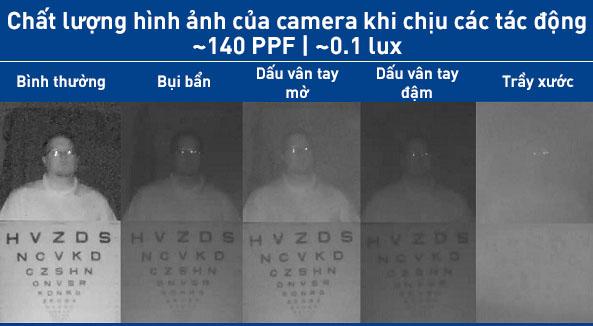 camera IP bán cầu bị bẩn  - 5