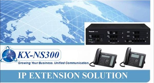 Tổng đài điện thoại Panasonic KX-NS300  -  2