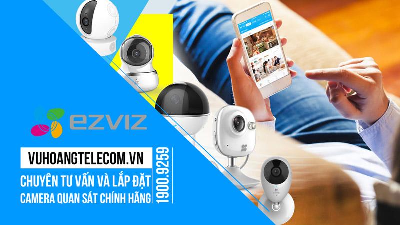 Lắp đặt camera EZVIZ giá tốt