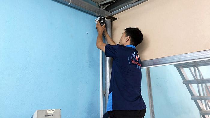 Công trình camera cho nhà xưởng Hoàng Minh Kim quận 12