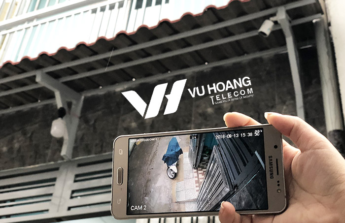 Lắp đặt camera quận Tân Phú giá tốt