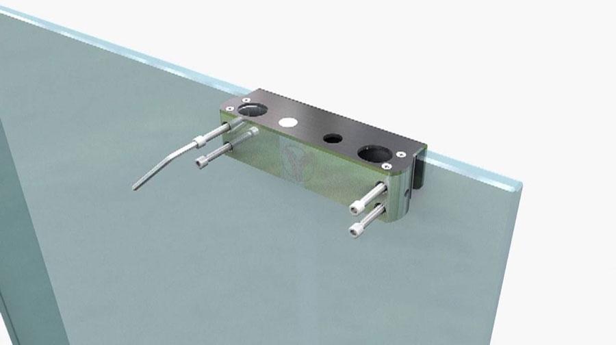 Khóa chốt điện từ cho cửa kính ONECAM DSL-322