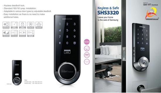 khóa điện tử Samsung SHS3321