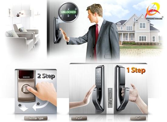 khóa cửa điện tử chống trộm -3