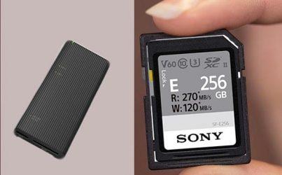 Sony ra mat USB hub va the nho sieu ben moi