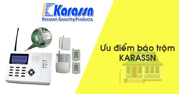 thiết bị báo trộm Karassn