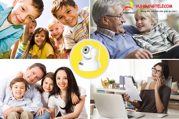 camera IP wifi cho gia đình -3