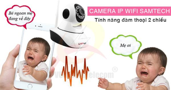 tính năng camera IP Wifi Samtech -3