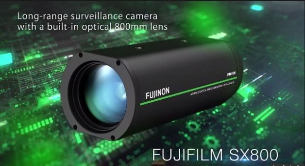 camera Fujifilm SX800 đọc được biển số xe cách 1km