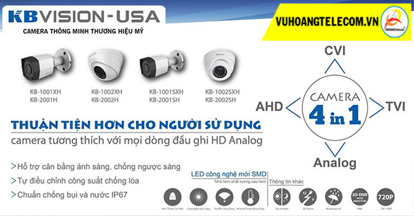 công nghệ SMD camera KBVISION -2