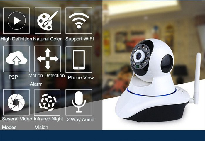 camera IP wifi Samtech -2